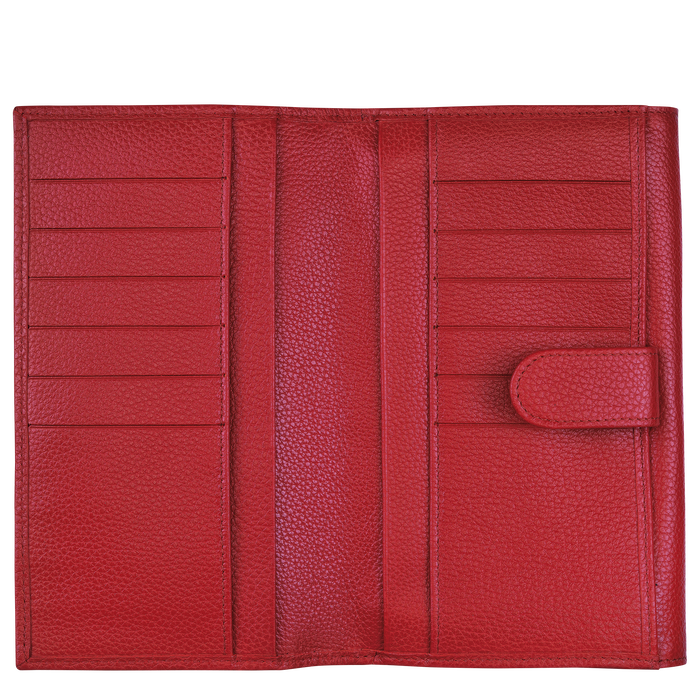 Long continental wallet, Red - View 2 of  2 - zoom in