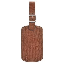 Luggage tag, 042 Brown, hi-res