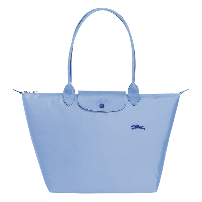 Shoulder bag L, Blue, hi-res - View 1 of 4