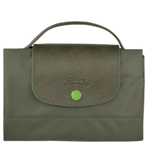 Porte-documents S, Vert Longchamp - Vue 4 de 5 -