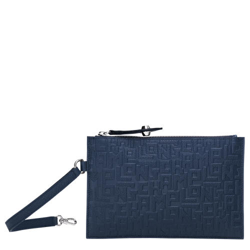 Flat pouch, Navy, hi-res - View 1 of 3