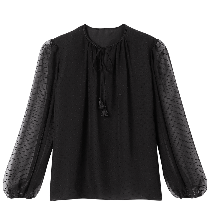 Blouse, Black/Ebony - View 1 of  2 - zoom in