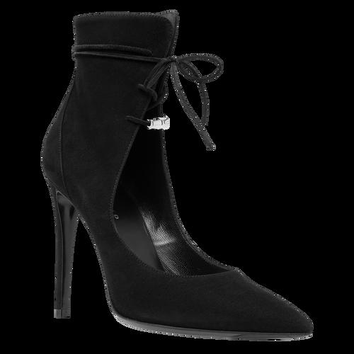 Sandales à talon, Noir/Ebène - Vue 2 de 2 -