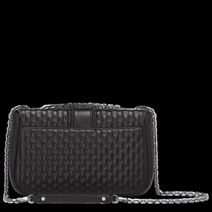 Crossbody bag M, Black/Ebony - View 3 of  3 - zoom in