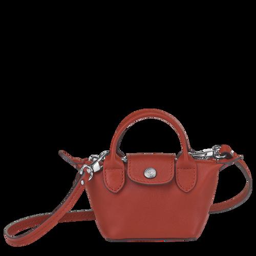 Crossbody bag XS Le Pliage Cuir Sienna (10099757003) | Longchamp US