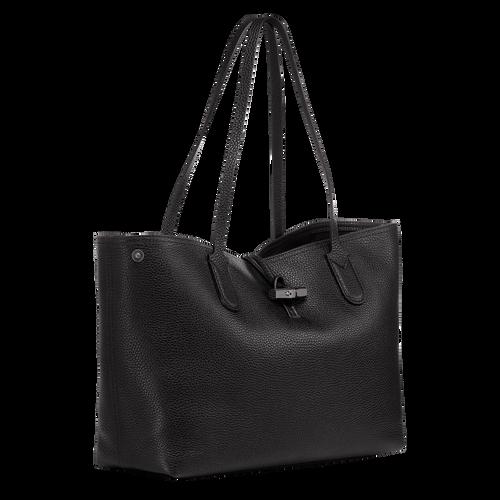 View 2 of Essential Tote bag M, Black, hi-res