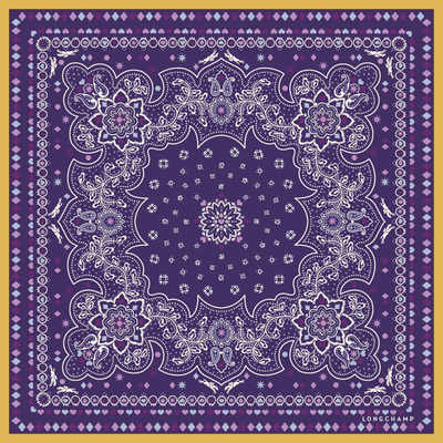 Mostrar vista 1 de Pañuelo de seda