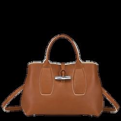 Handtasche M, Cognac, hi-res