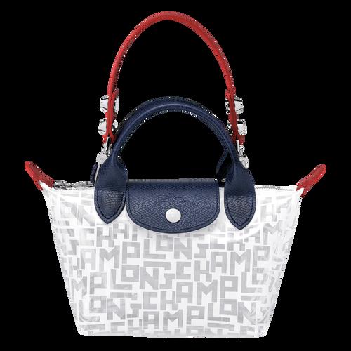 Mini top-handle bag, White, hi-res - View 1 of 3