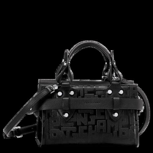 Tas met handgreep aan de bovenkant S, Zwart - Weergave 1 van  3 -