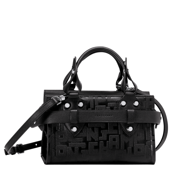 Tas met handgreep aan de bovenkant S, Zwart - Weergave 1 van  3 - Meer inzoomen.