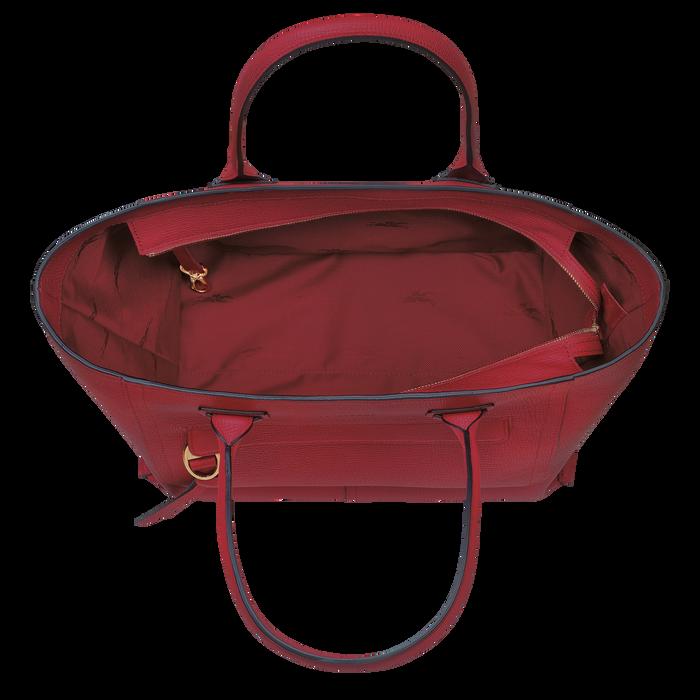 Mailbox Top handle bag L, Red