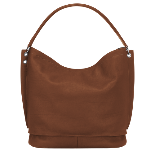 Hobo bag, Cognac, hi-res - View 3 of 3