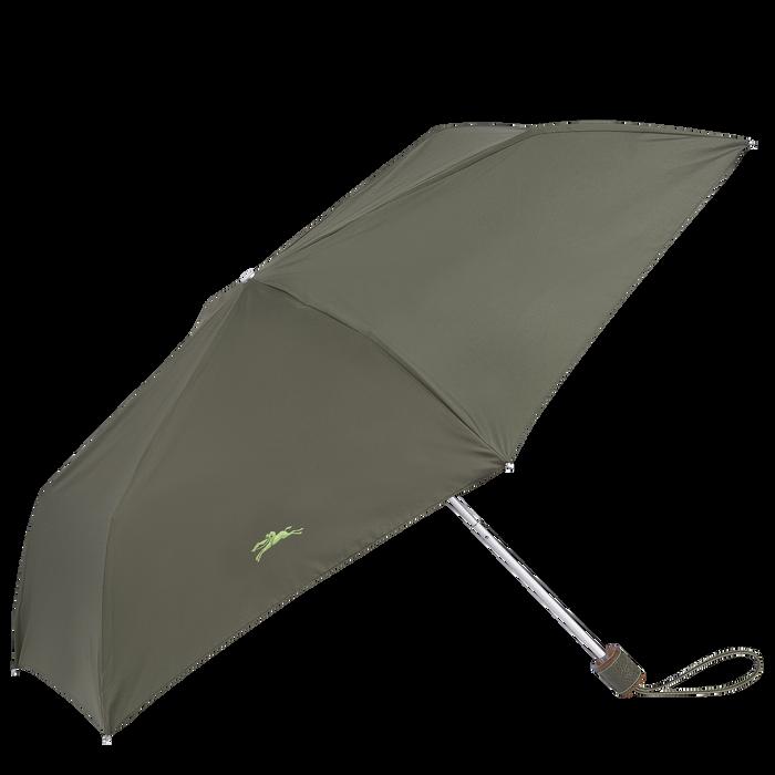 Parapluie homme Ombrello retrattile,  Verde Longchamp