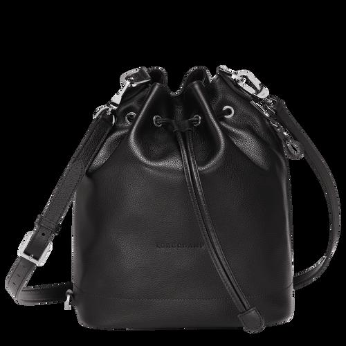 Bucket bag M Le Foulonné Black (10062021047) | Longchamp US