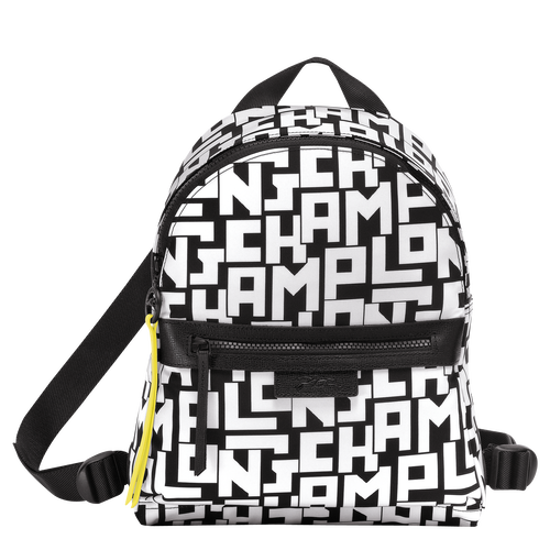 View 1 of Backpack S, Black/White, hi-res