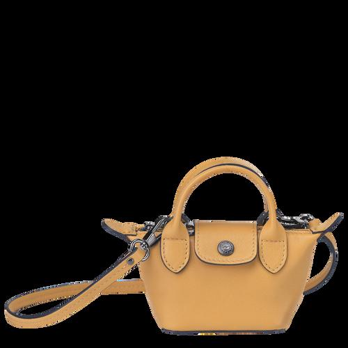 Crossbody bag XS Le Pliage Cuir Honey (10099757P15) | Longchamp DK