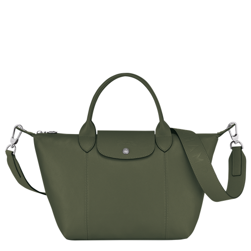 Top handle bag, Dark Green, hi-res - View 1 of 3