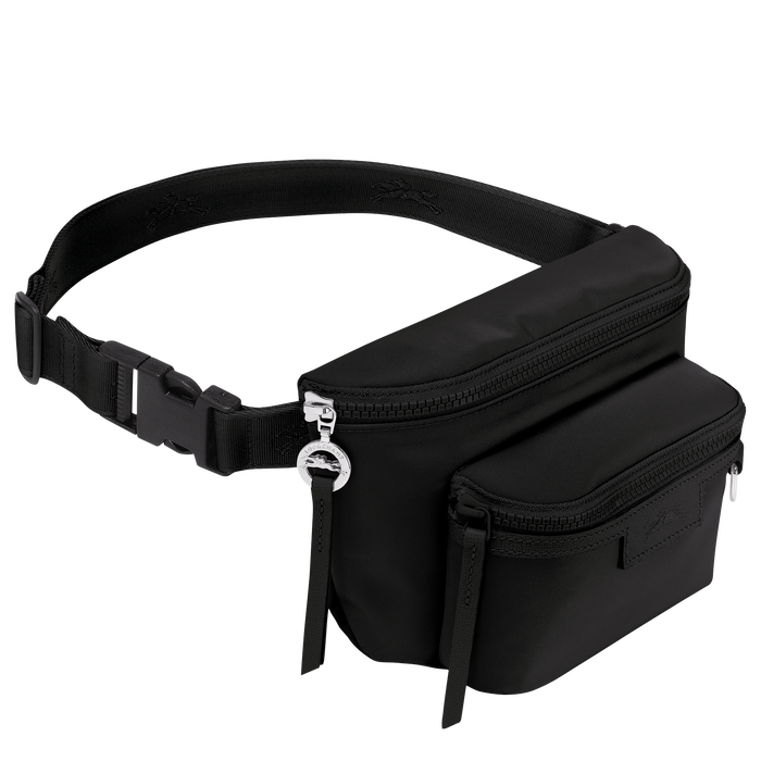 Belt bag M, Black/Ebony - View 2 of 3 - zoom in