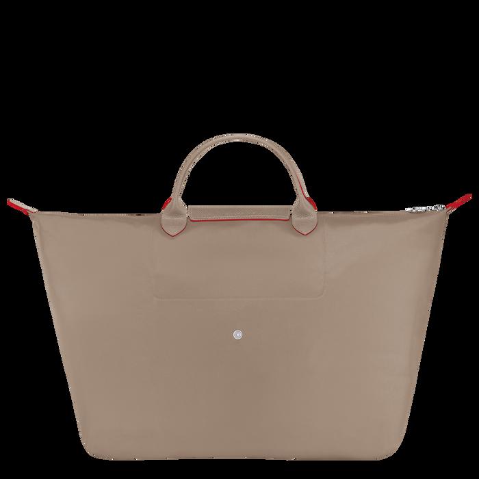 Le Pliage Club Travel bag L, Brown