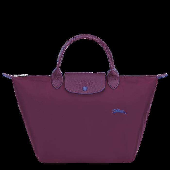 Le Pliage Club Handtasche M, Pflaume