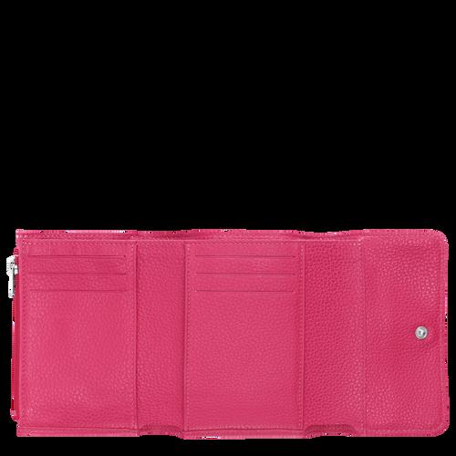 Vue 2 de Portefeuille compact, Rose, hi-res