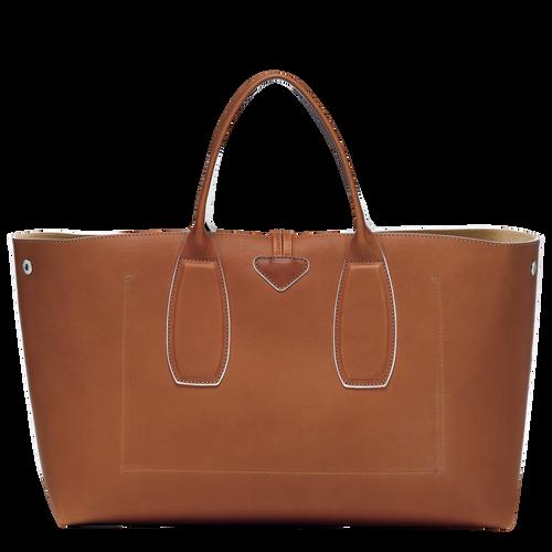 Tas met handgreep aan de bovenkant L, Cognac - Weergave 4 van  5 -