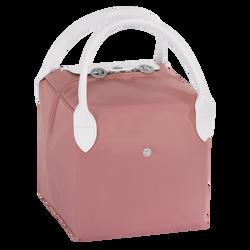 Top-handle bag S, E65 Pink/White, hi-res