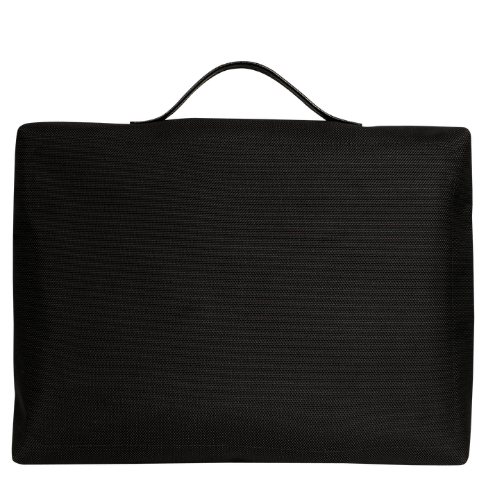 Briefcase, Black, hi-res - View 3 of 3