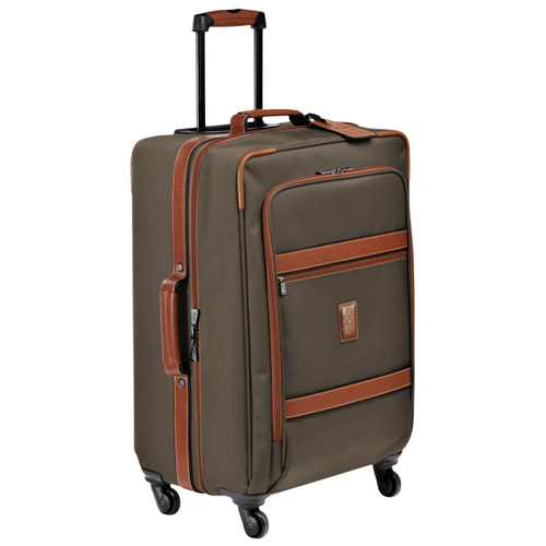 View 2 of Wheeled suitcase M, 042 Brown, hi-res
