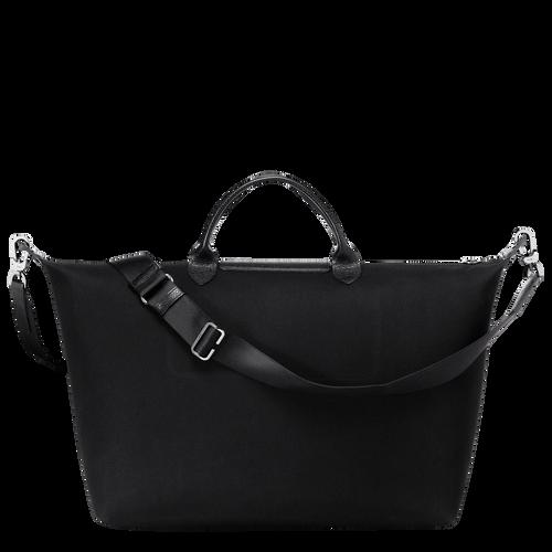 Travel bag L, Black/White, hi-res - View 3 of 3