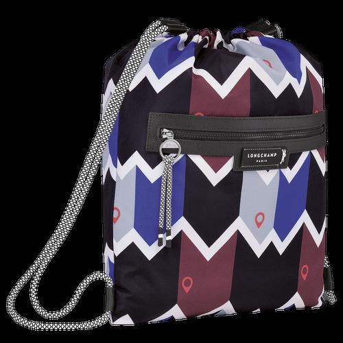 Backpack, Mahogany/Blue - View 2 of  3 -