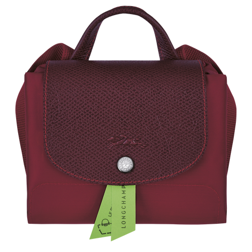 Le Pliage Green Backpack, Red