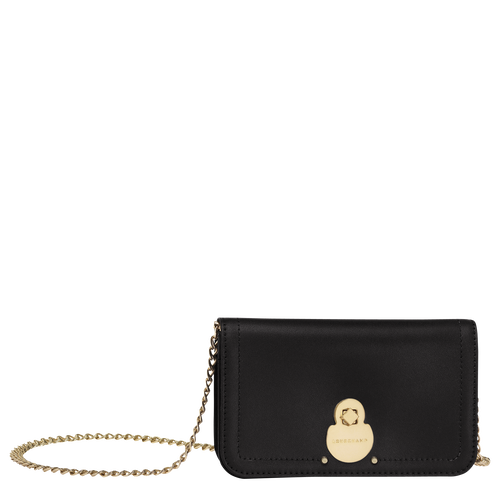 Wallet on chain, Black, hi-res - View 1 of 3