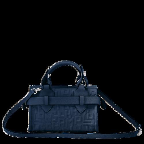 Top handle bag S, Navy, hi-res - View 3 of 3