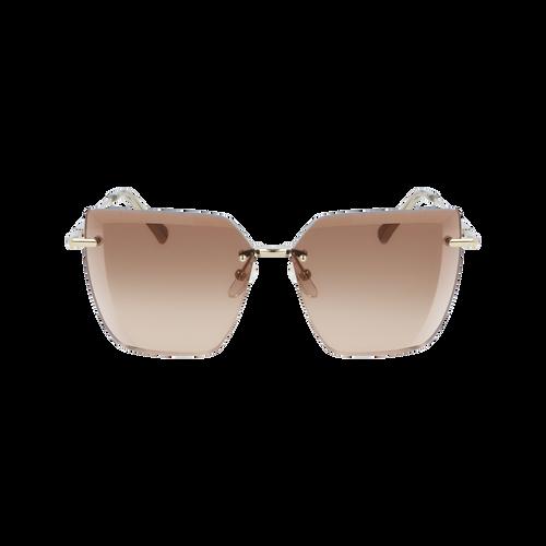 2020 가을겨울 컬렉션 선글라스, 브라운/골드