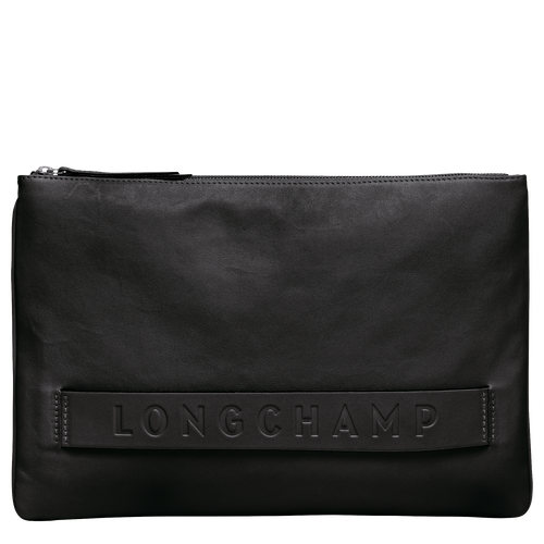 View 1 of Large Pouch, Black, hi-res