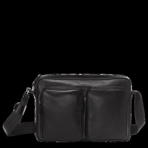 View 1 of Hobo bag, 001 Black, hi-res