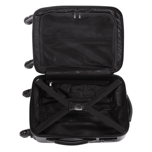 View 3 of Small wheeled suitcase, Black, hi-res
