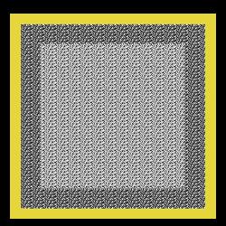 Carré de soie, 067 Noir/Blanc, hi-res
