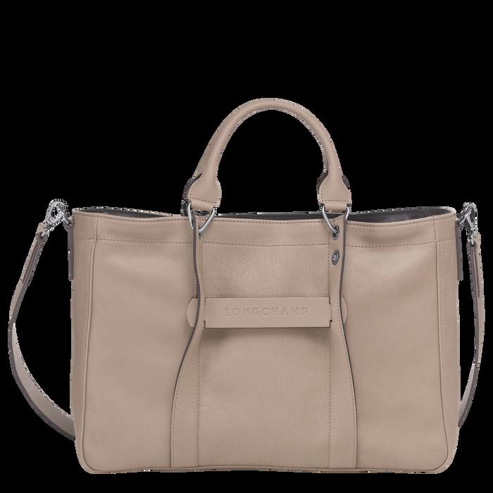 Longchamp 3D Sac porté main M, Vison