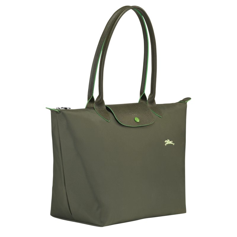 Shoulder bag L, Longchamp Green - View 2 of  5 - zoom in