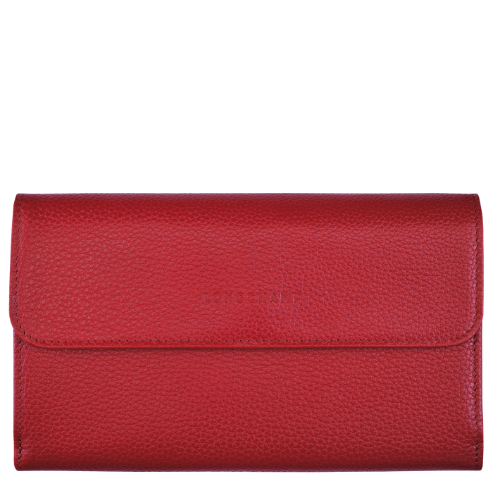 Long continental wallet, Red - View 1 of  2 - zoom in