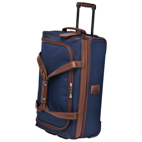 Wheeled duffle bag, Blue, hi-res - View 2 of 3