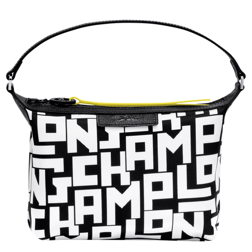 Clutch, Black/White - View 1 of 3 -