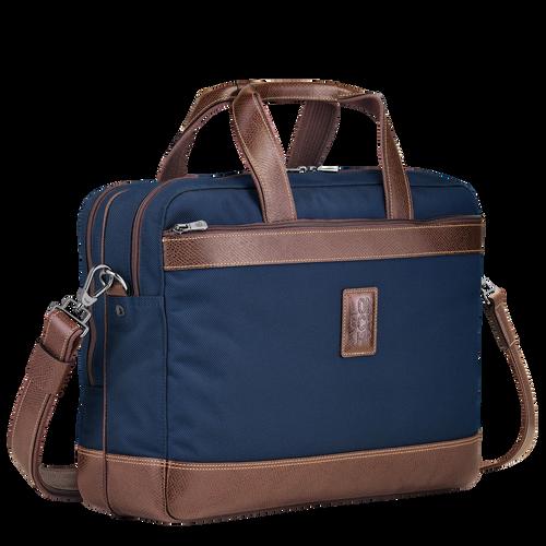 Briefcase L Boxford Blue (L1487080127) | Longchamp US