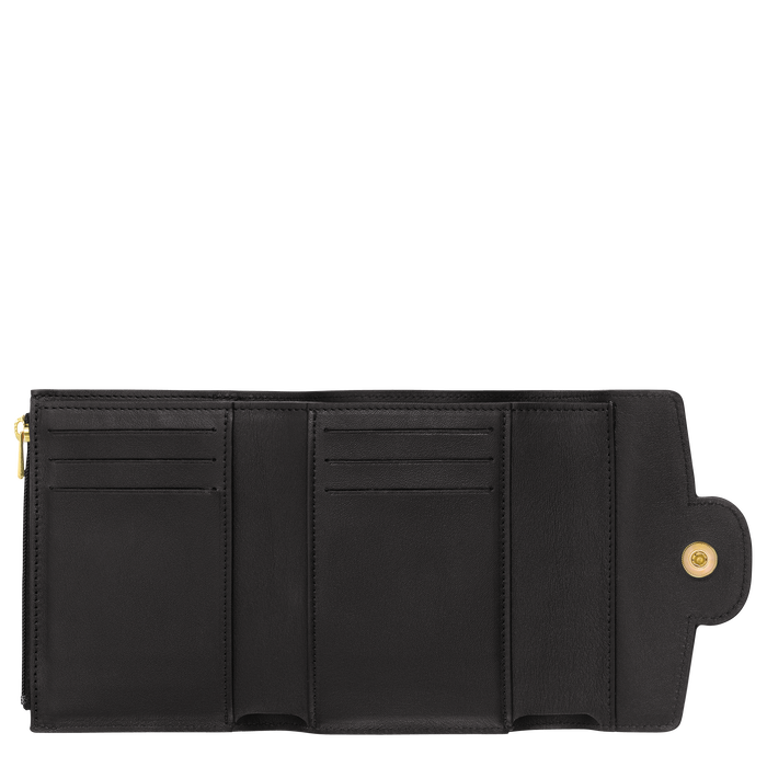 Compact wallet, Black/Ebony - View 2 of  2 - zoom in