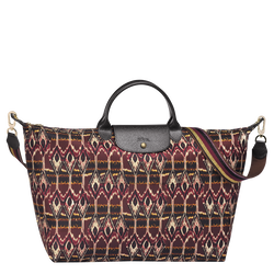 Ikat Travel bag L, 009 Burgundy, hi-res