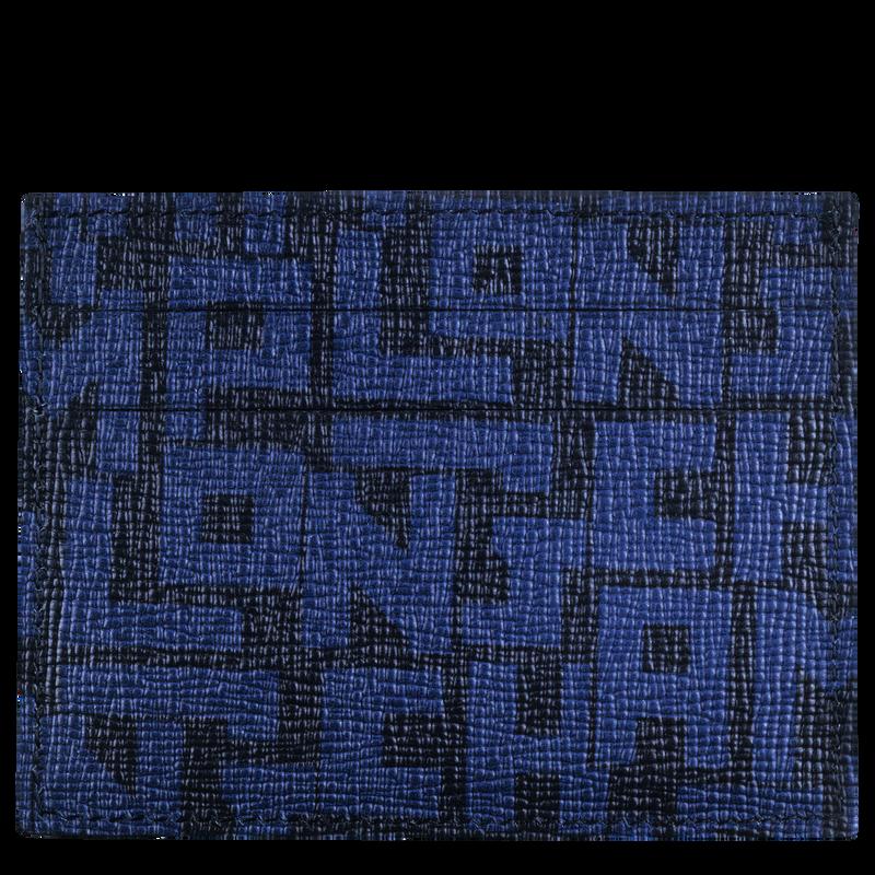 Le Pliage LGP Card holder, Black/Navy