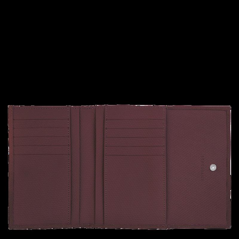 Roseau Compact wallet, Burgundy